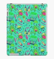 Mad Science in Teal iPad Case/Skin