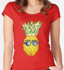 Tropical Holidays - Noël Tropical  Women's Fitted Scoop T-Shirt