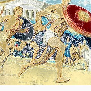 Ancient Olympics by Blahzeedee