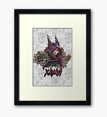 League of Legends - XAYAH - Graffiti style Framed Print