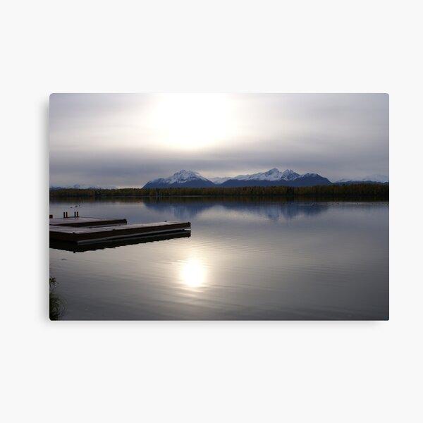 Weak Sun~Weak Reflection Canvas Print