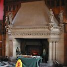 Fireplace at Edinburg castle, Scotland by chord0