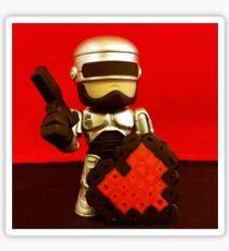 Robocop Valentines Sticker