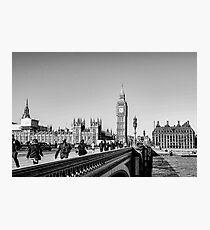 Westminster Bridge, London Photographic Print