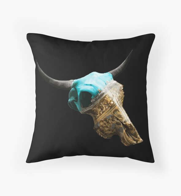 Jewelry Cow Skull Design v.10  by GLOBEXIT