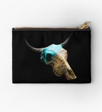 Jewelry Cow Skull Design v.10  Studio Pouch