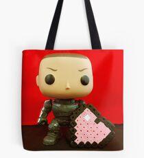 Shepard Valentines Tote Bag