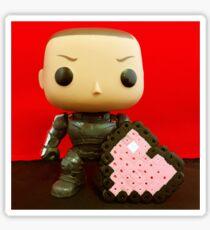 Shepard Valentines Sticker