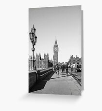 Westminster Day Greeting Card