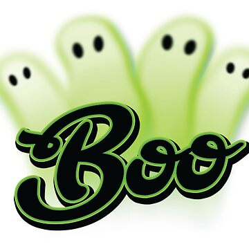 Green Ghost Boo by pcisbs