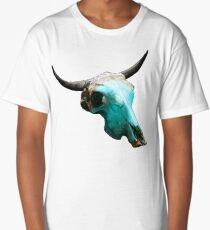 Jewelry Cow Skull Design v.8  Long T-Shirt