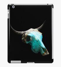Jewelry Cow Skull Design v.8  iPad Case/Skin