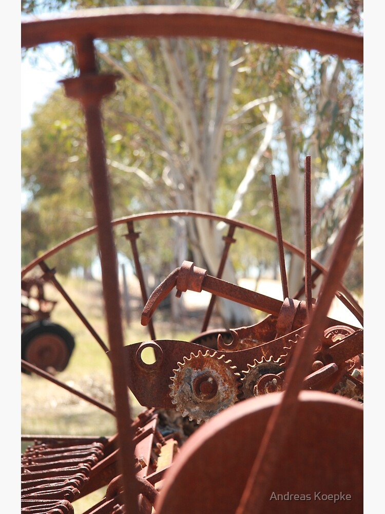 Rusting farm equipment by mistered