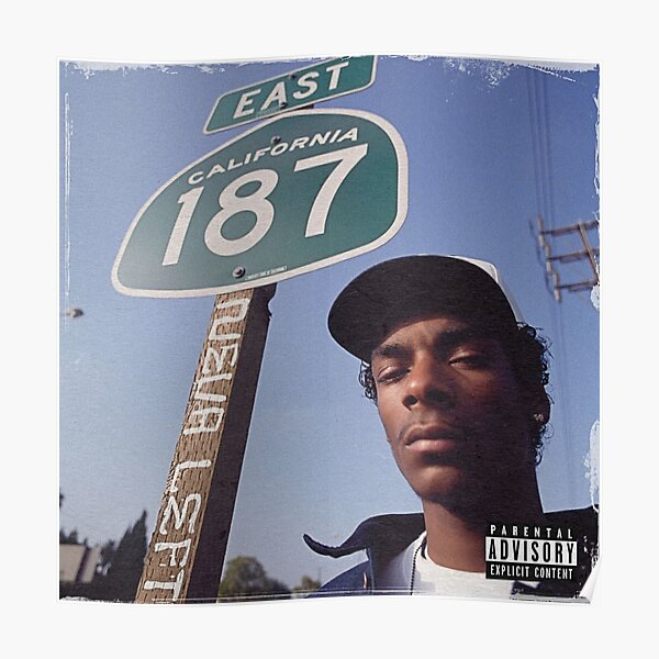 Snoop Dogg- Neva Left Poster