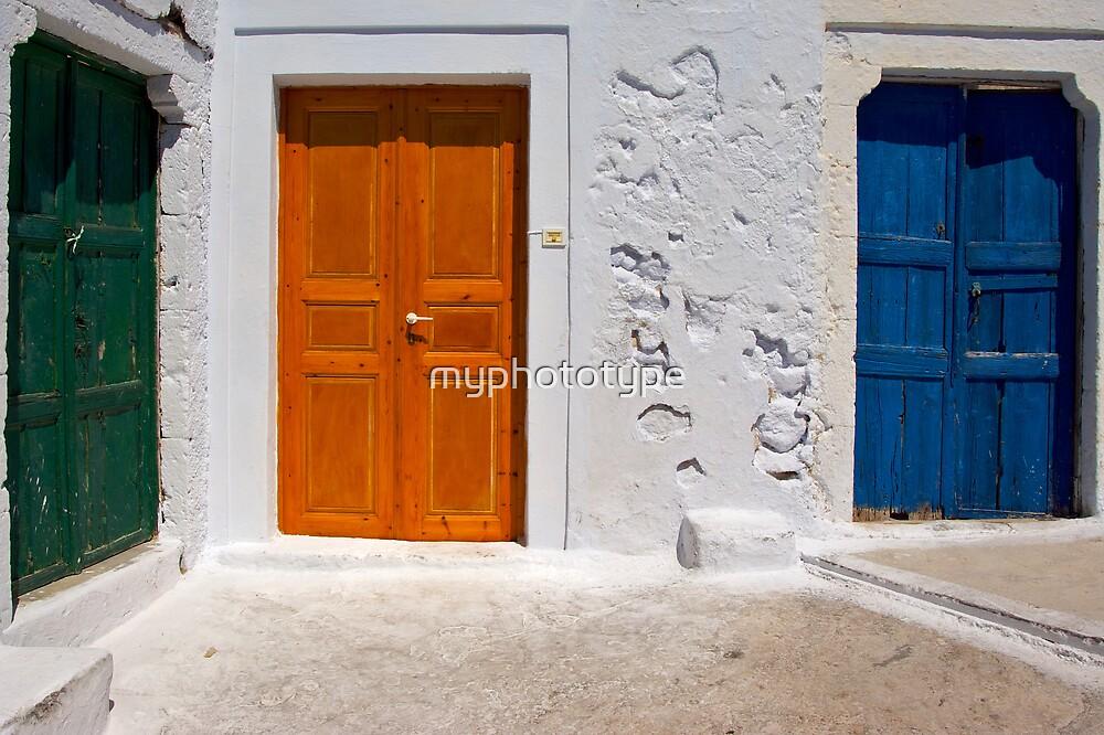 The Three Doors by myphototype