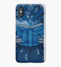Books magic blue iPhone Case/Skin