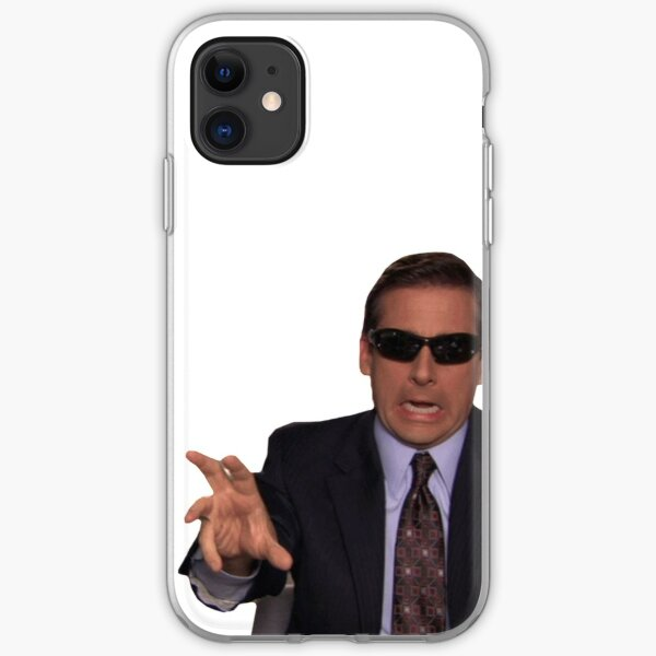 Michael Scott Funny Meme  iPhone Soft Case