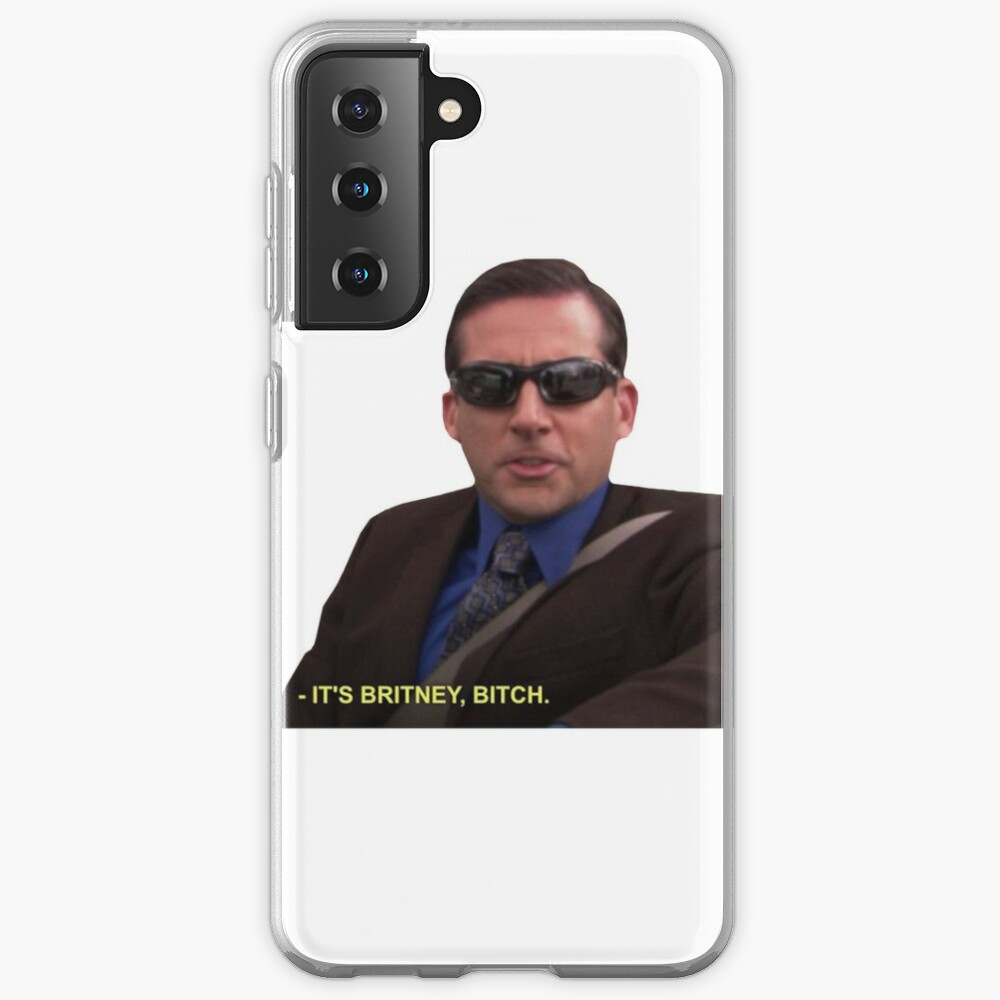 Michael Scott - It's Britney Bitch  Case & Skin for Samsung Galaxy