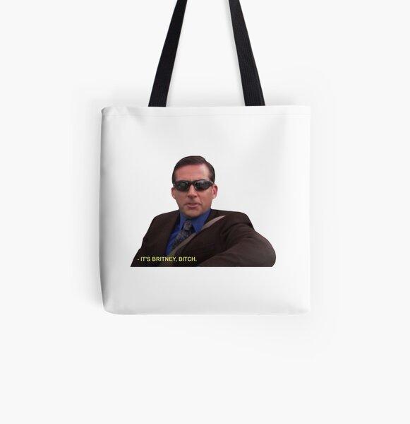 Michael Scott - Es ist Britney Bitch Allover-Print Tote Bag