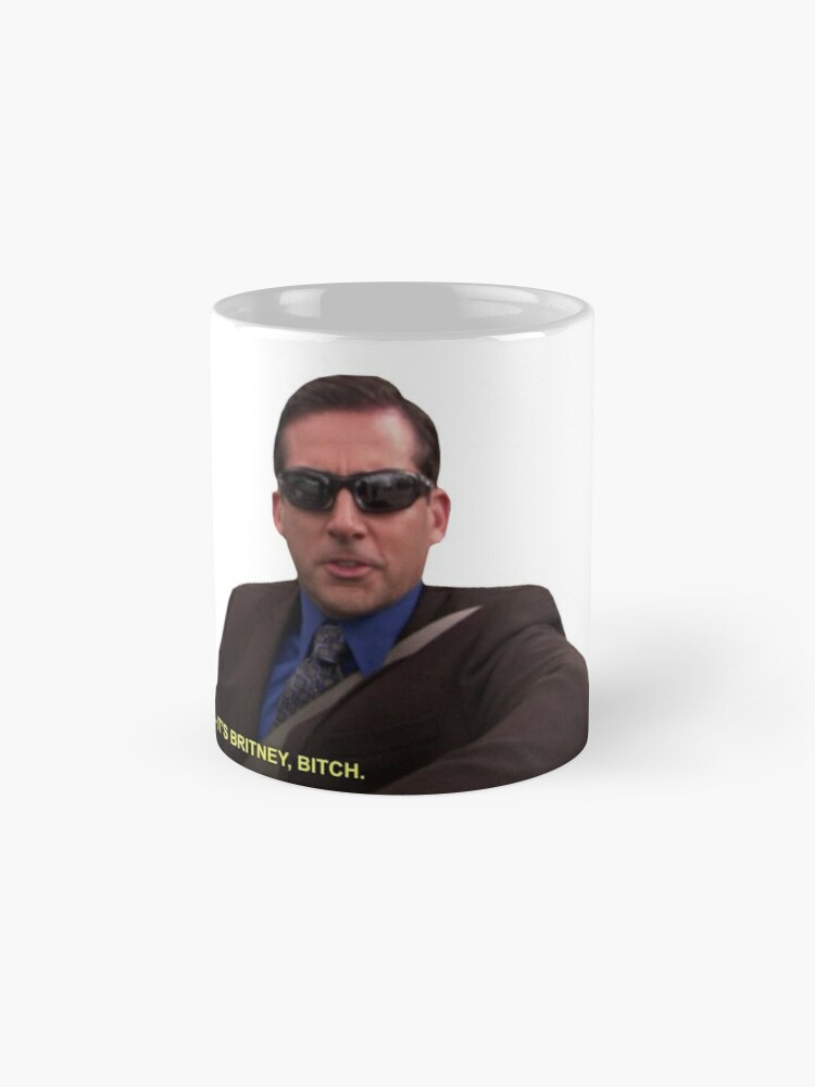 Alternate view of Michael Scott - It's Britney Bitch  Mugs