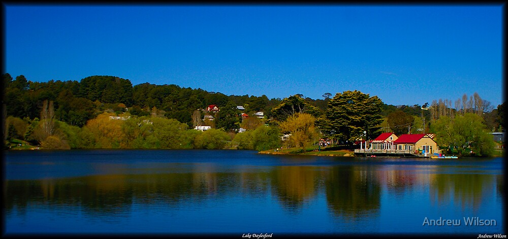 Lake Daylesford by Andrew Wilson