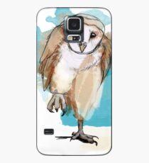 Eule - Schleuereule - barn owl Hülle & Skin für Samsung Galaxy