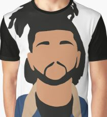 The Weeknd Minimalist Illustration  Graphic T-Shirt
