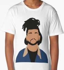 The Weeknd Minimalist Illustration  Long T-Shirt