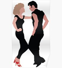 Grease The Musical Poster