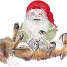 The Gnome and his friend the fox by Lisbeth Thygesen