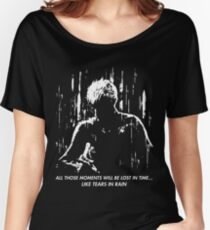 Blade Runner - Like Tears in Rain Women's Relaxed Fit T-Shirt