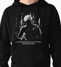 Blade Runner - Like Tears in Rain Pullover Hoodie