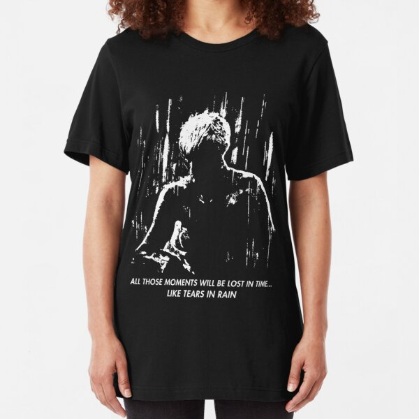 Blade Runner - Like Tears in Rain Slim Fit T-Shirt
