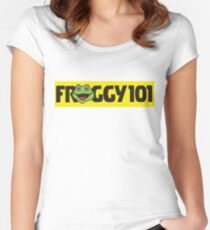 Froggy 101 The Office Women's Fitted Scoop T-Shirt
