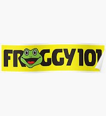 Froggy 101 The Office Poster