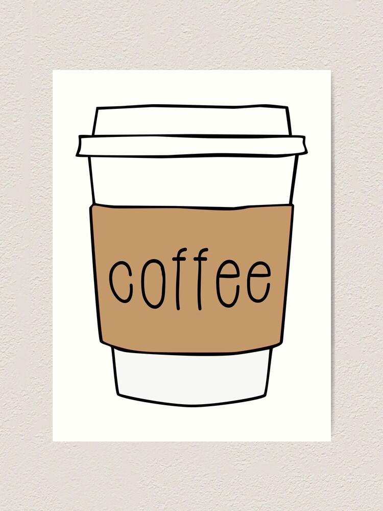 Alternate view of Coffee Cup Art Print