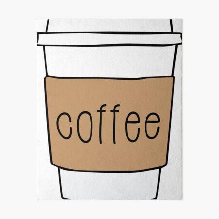 Coffee Cup Art Board Print