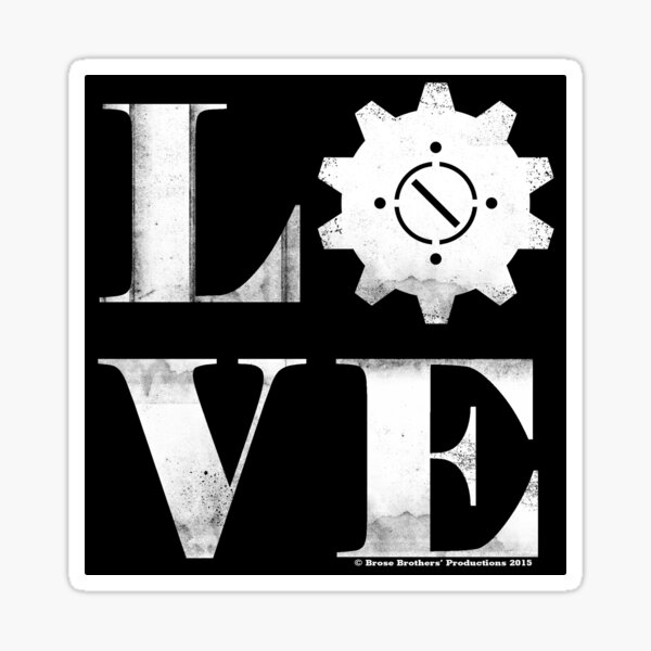 For the Love of Steampunk Sticker