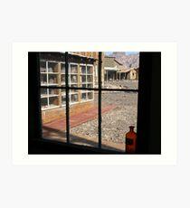 Window to the Past Art Print
