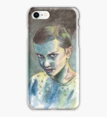 011 from STRANGER THINGS iPhone Case/Skin