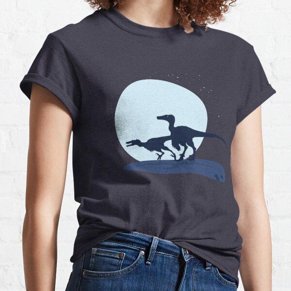 Raptors-Swift Dune Seas of Djadochta Classic T-Shirt