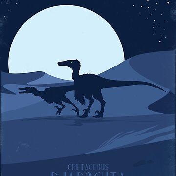 Raptors-Swift Dune Seas of Djadochta by BroseBrosPro