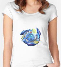 Bayblade Burst [Valt_Beyblade] Women's Fitted Scoop T-Shirt