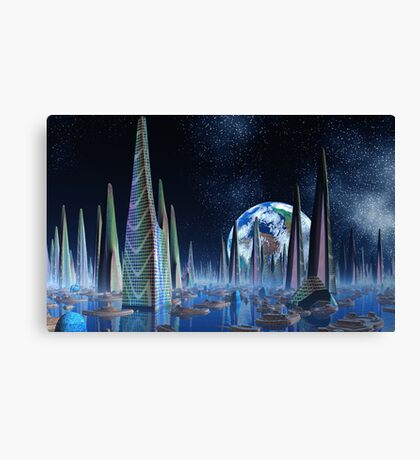 Cities of the Imperium Canvas Print