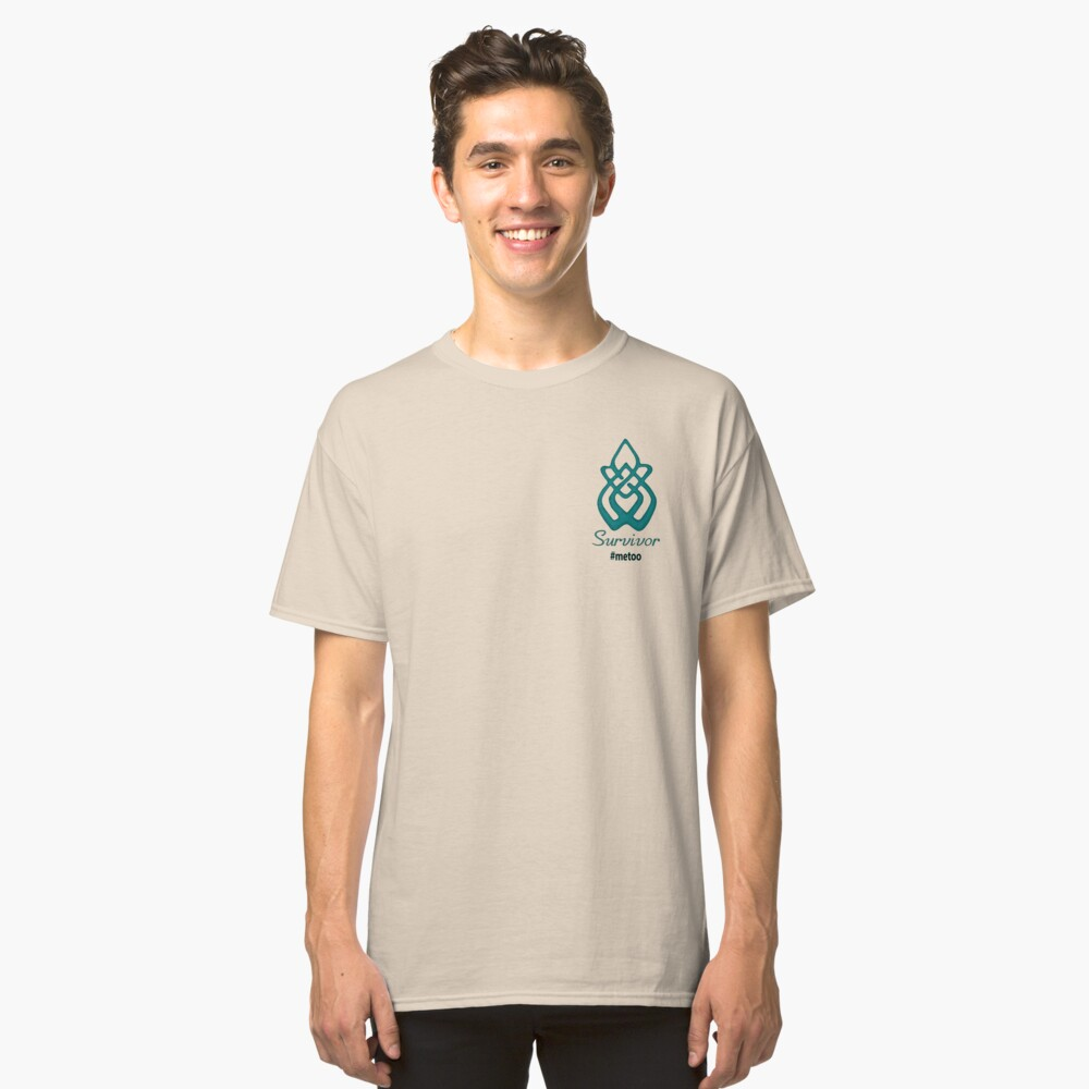 Survivor #metoo Classic T-Shirt Front
