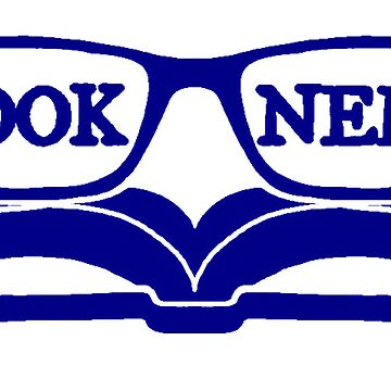 Book Nerd (blue) by NolanRTaylor