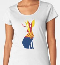 Az Jackalope Believe in 48 Women's Premium T-Shirt