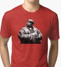 BIGGIE - D90 Rap Collection. Tri-blend T-Shirt