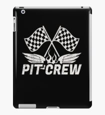 Pit Crew - Race Day | Vintage Racing iPad Case/Skin