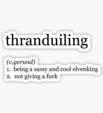 Thranduiling  Sticker